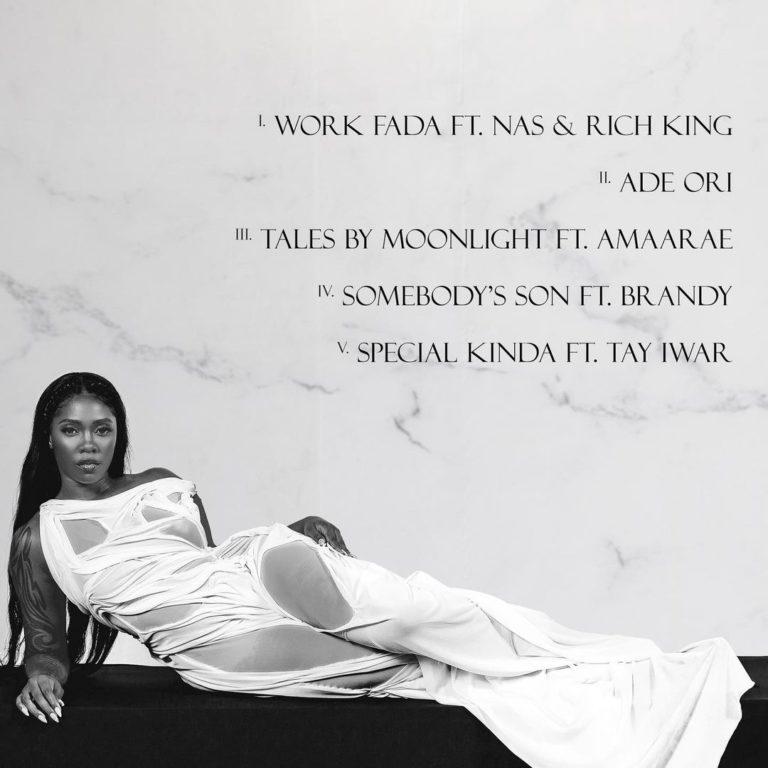 """Tiwa Savage """"Water & Garri"""" EP - Tracklist"""