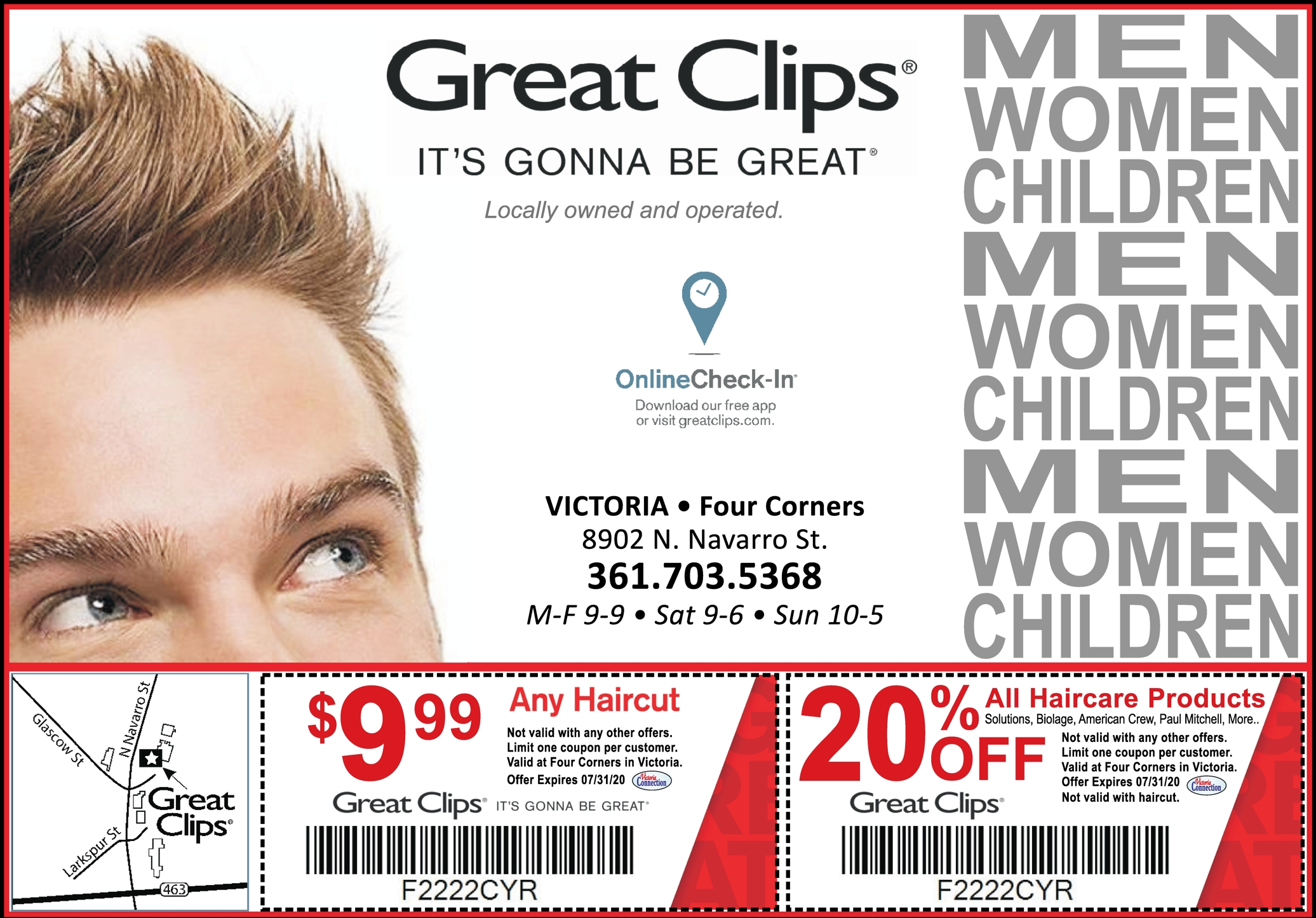 Get In Get Out Get Great For Just 9 99 At Great Clips