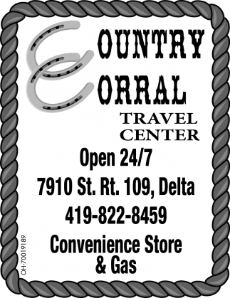 Convenience Store & Gas, Country Corral Travel Center