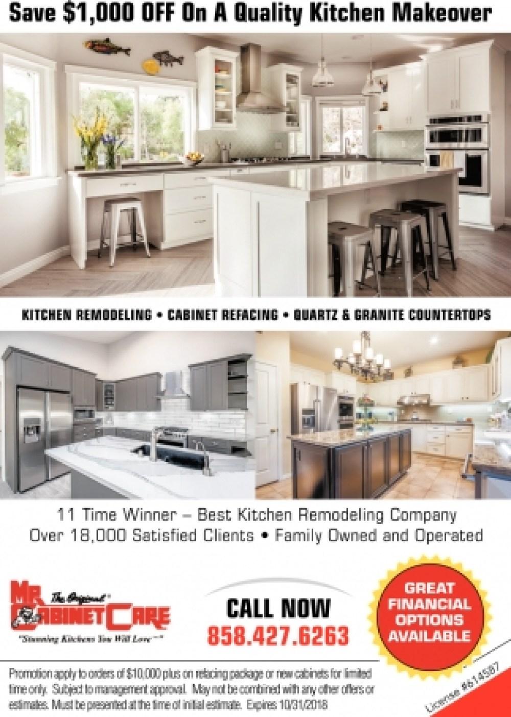 kitchen remodeling , mr. cabinet care, anaheim, ca