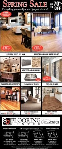 Spring Sale, SD Flooring Center & Design, San Marcos, CA