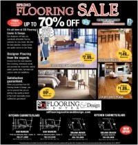 Spring Flooring Sale, SD Flooring Center & Design, San ...