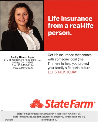 life insurance from a