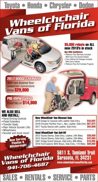 wheelchair van parts chocolate brown dining chairs sales rentals service wheelchchair vans of florida