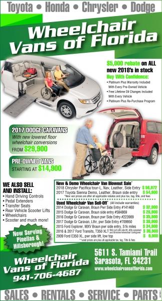 wheelchair van parts linen dining chairs sales rentals service wheelchchair vans of florida sarasota fl