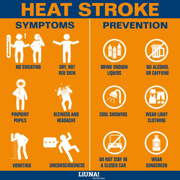 Heat Stress Safety Tips