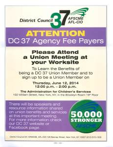 Agency Fee Payer Meeting 6 12 14
