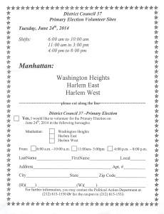 Primary day Volunteer Form 6 24 14