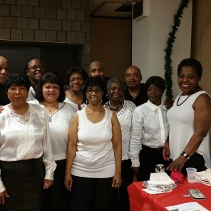 Members of the L1549 Choral Group