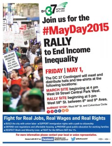 May Day Rally Flyer 5 1 15