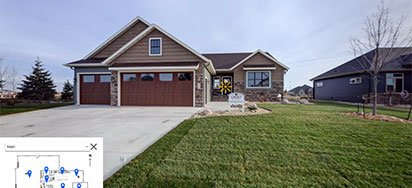 model home - west fargo, ND
