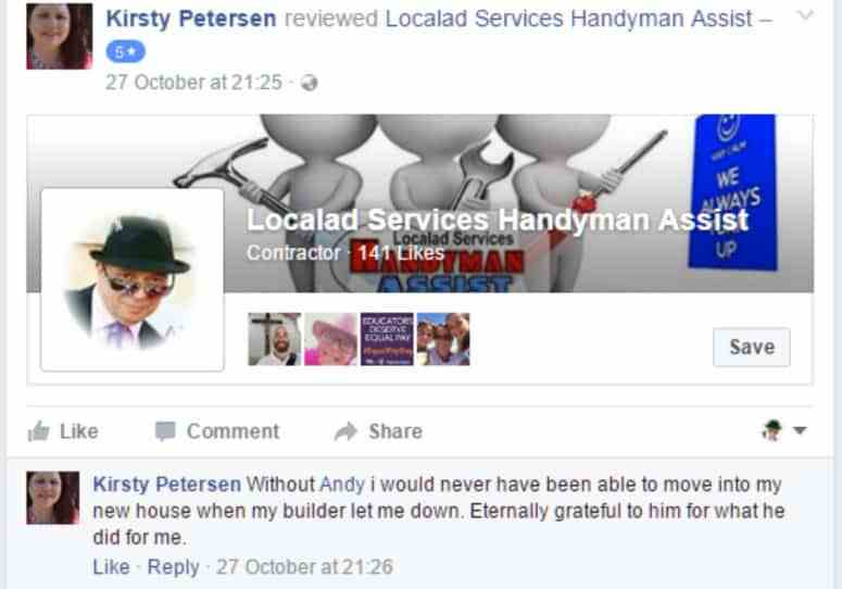 Kirsty Peterson Facebook Post