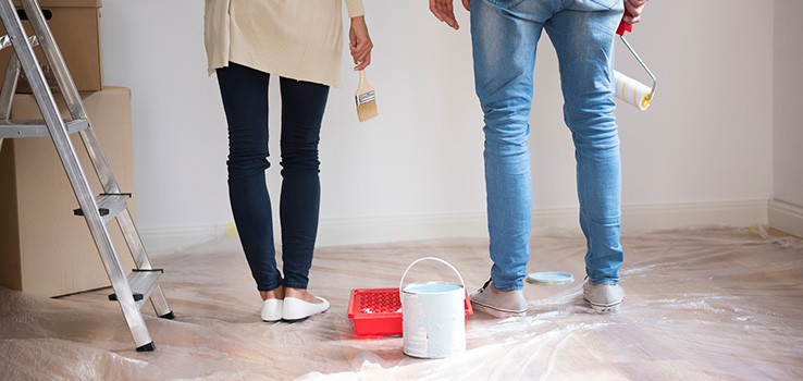 How to successfully paint a room