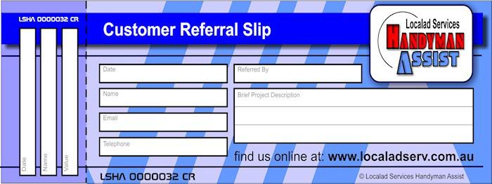Referral slip