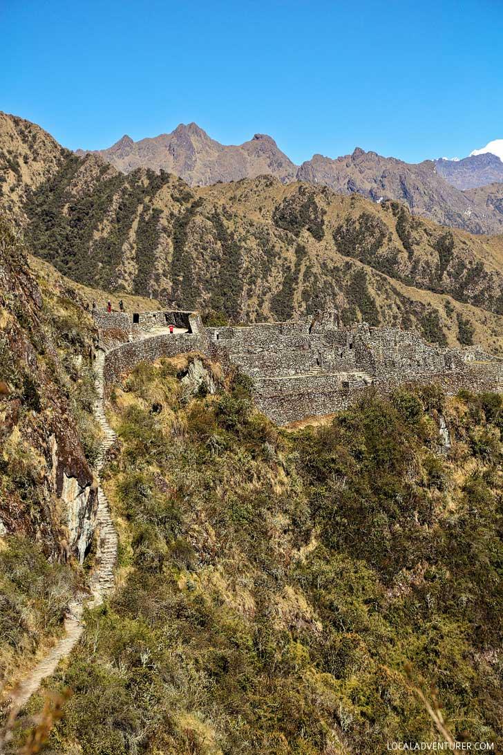 Sayacmarca Inca Ruins (How to hike to Machu Picchu - Ultimate Guide to the 4-day Inca Trail Hike) // localadventurer.com
