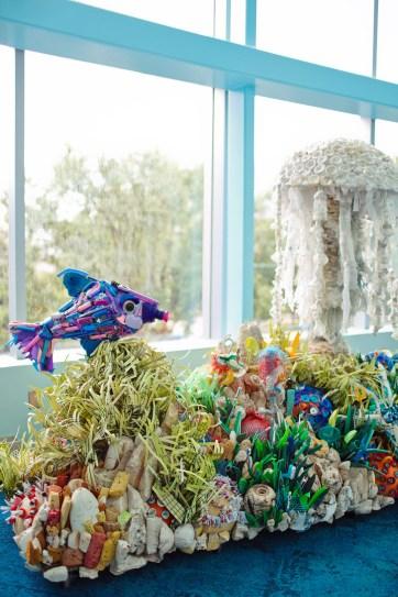 Washed Ashore Exhibit at the Georgia Aquarium in Atlanta // localadventurer.com