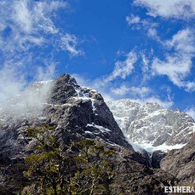 Milford Sound Mountains New Zealand