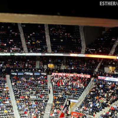 first hawks game philips arena | tourists at home atlanta edition