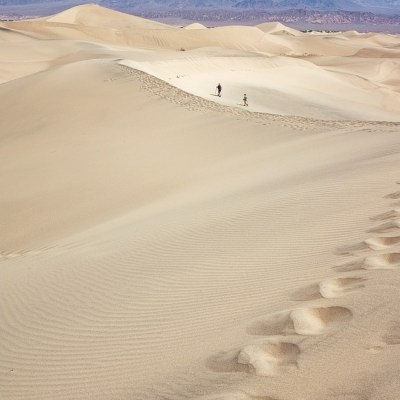 Parks in CA: Mesquite Flats Sand Dunes Death Valley National Park