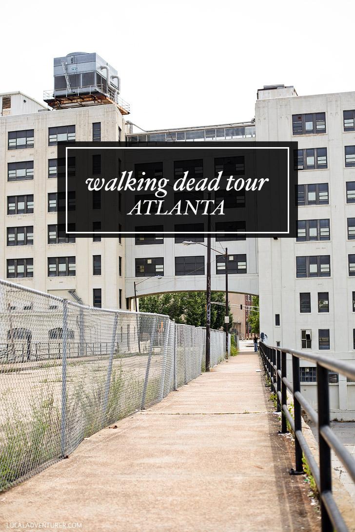 Atlanta Walking Dead Tour.