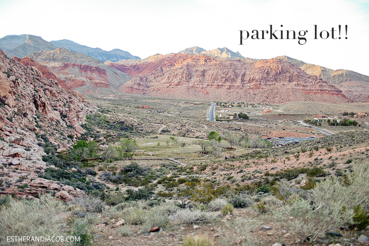 At the Finish Line! Hiking Red Rock Las Vegas | Red Springs Loop.