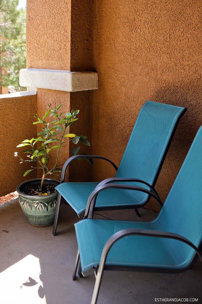 Our patio in our humble abode. Gratitude practice for week 29.