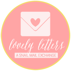LovelyLetters Snail Mail Exchange Button.