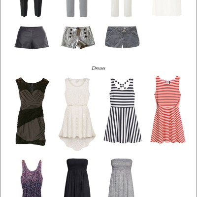 Project 333: How to build a Capsule Wardrobe / My Summer Capsule Wardrobe.