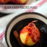 Poached Pears Recipe with Raspberry Chocolate Sauce
