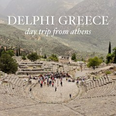 Delphi Greece (Sanctuary of Apollo) - a day trip from Athens // localadventurer.com