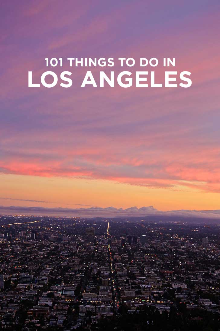 101 Things to Do in LA California - the Ultimate Los Angeles Bucket List - from the popular spots everyone has to do at least once to the spots a little more off the beaten path. // localadventurer.com