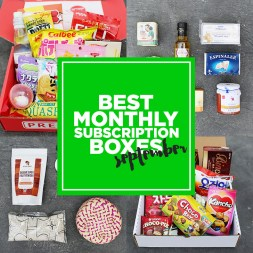 Favorite Subscription Boxes – September Edition