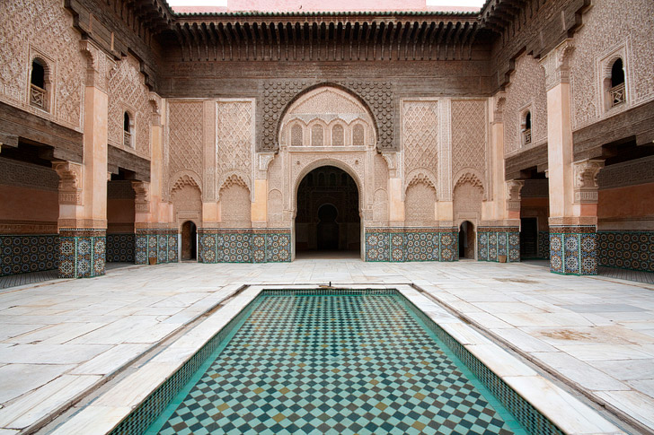 Ben Youssef Madrasa (21 Fascinating Things to Do in Marrakech Morocco).