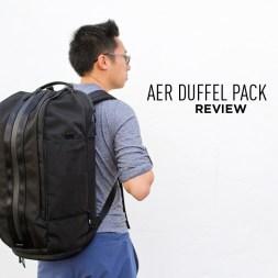Aer Duffel Pack Review