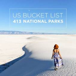 417 US National Parks Systems – Bucket List