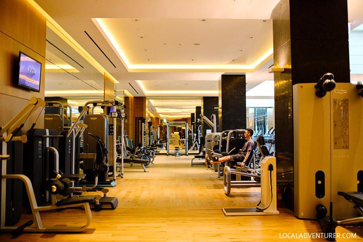 Full Gym at the Conrad Hotel Seoul Korea // localadventurer.com