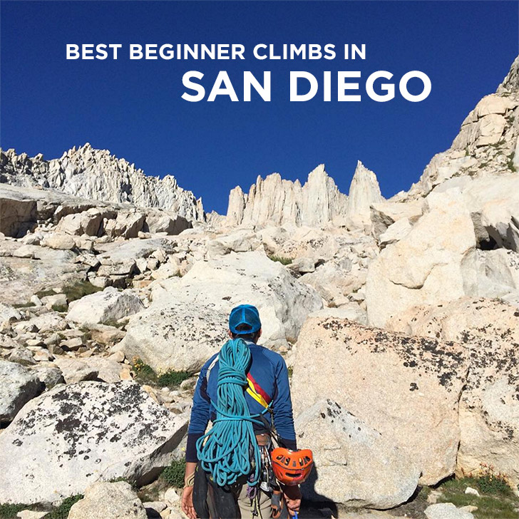 Best Beginner Outdoor Rock Climbing in San Diego County // localadventurer.com