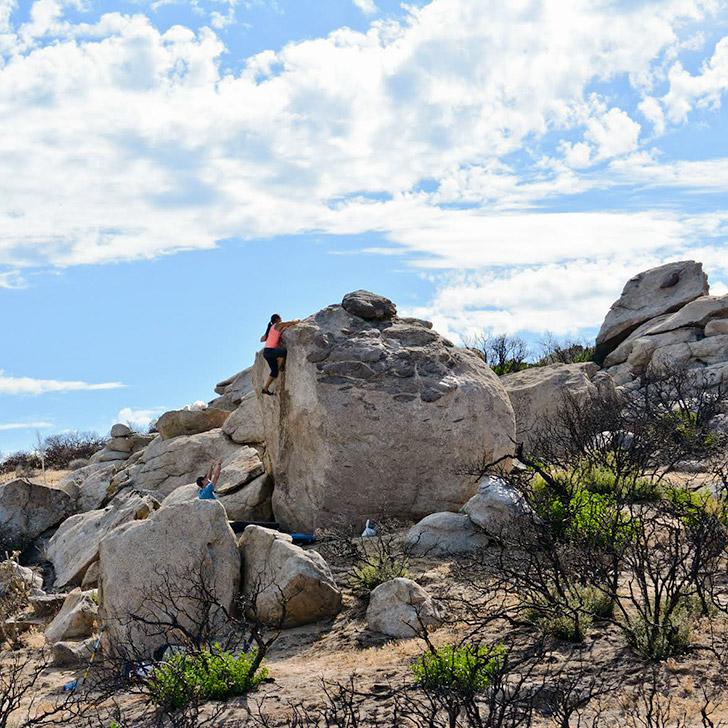 Jasper Boulders - Best Outdoor Rock Climbing in San Diego County // localadventurer.com