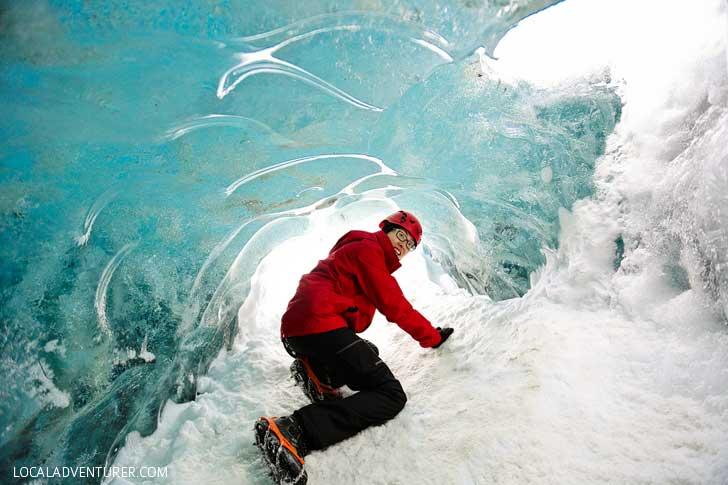 Vatnajökull Glacier Ice Cave Iceland // localadventurer.com