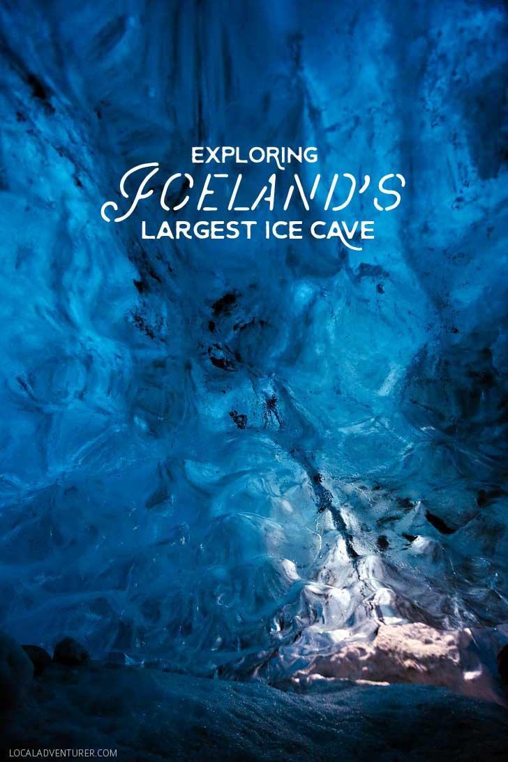 Breiðamerkurjökull - Iceland's Largest Ice Cave in Vatnajokull Glacier Skaftafell National Park // localadventurer.com