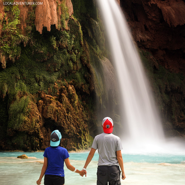Havasupai Waterfalls - there are 5 in the area you should visit // localadventurer.com