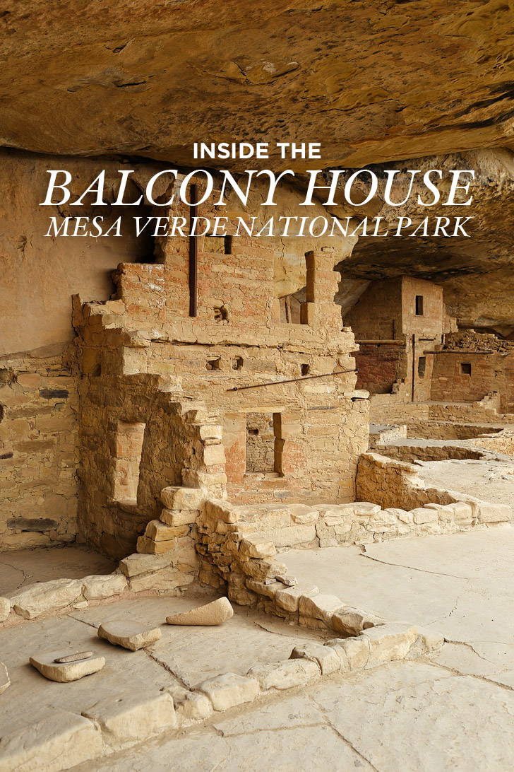 Inside the Balcony House - Ancient cliff dwellings built by Ancestral Puebloans // localadventurer.com
