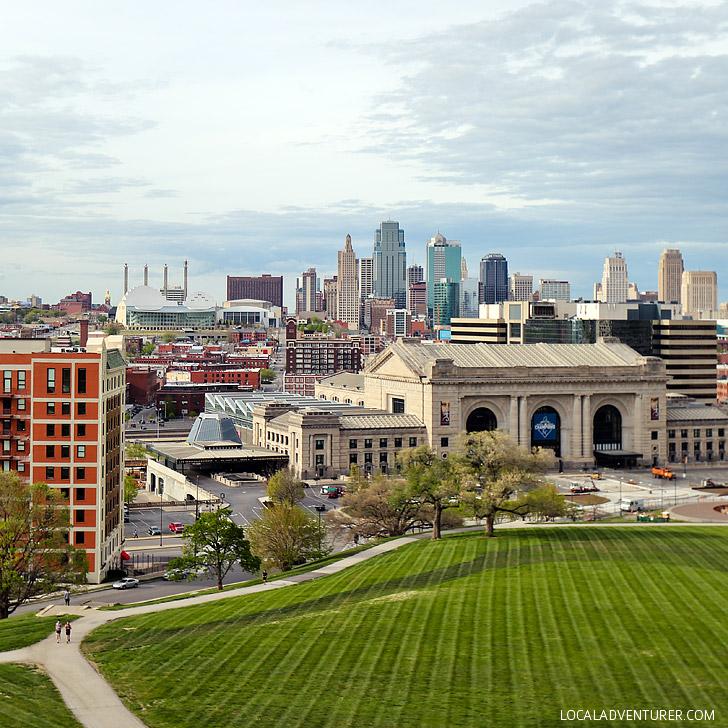 City views from the National World War 1 Museum Kansas City Missouri // localadventurer.com
