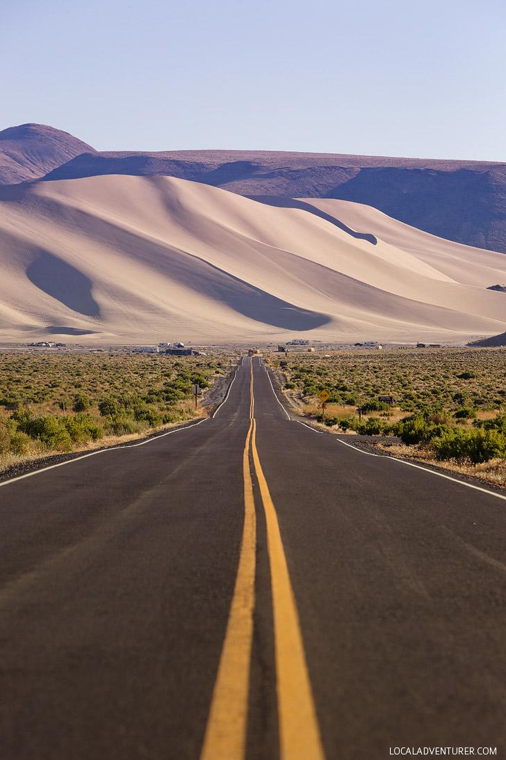 Sand Mountain Nevada - the perfect destination for ATVing, stargazing, or camping // localadventurer.com