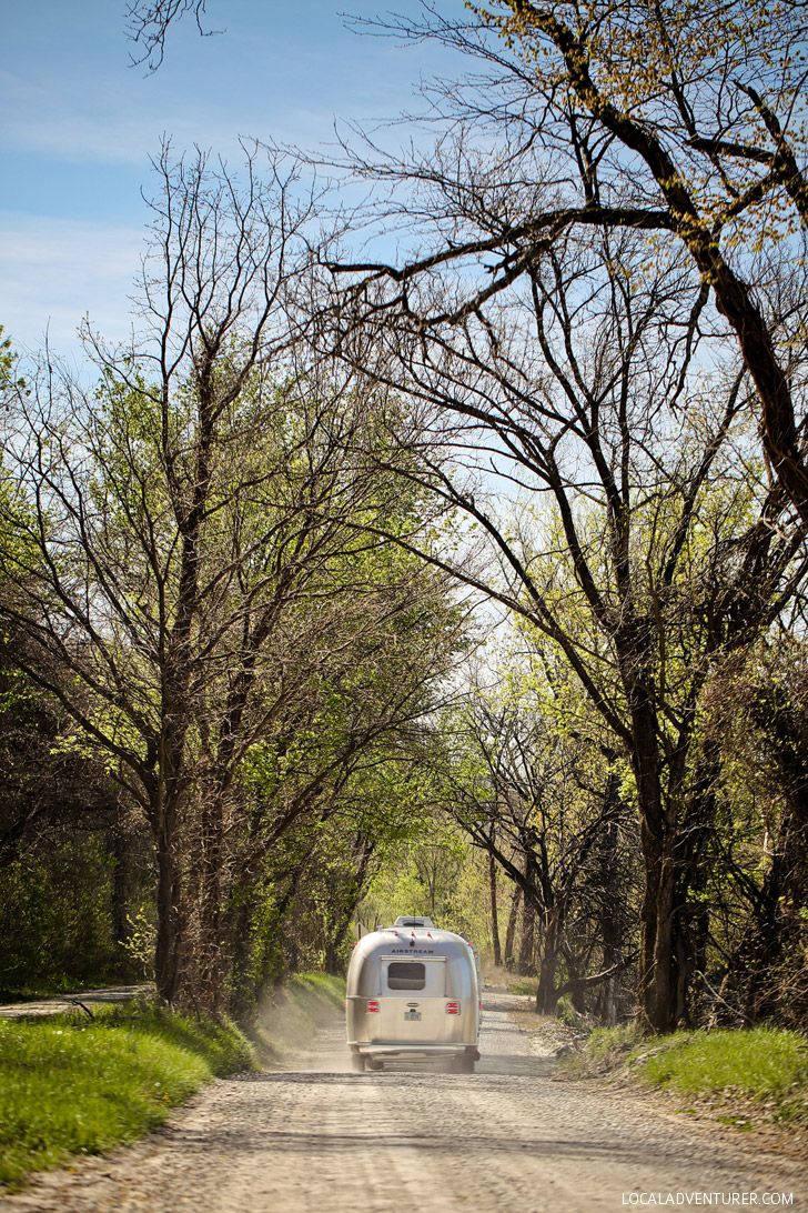 Our Airstream Trip in Numbers - We drove over 16 thousand miles through 19 states in 3 months. See our favorite spots! // localadventurer.com