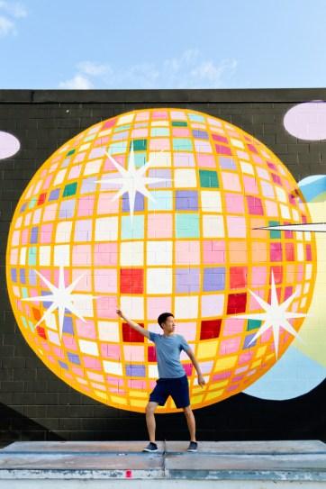 Disco Wall at Disco Kroger (+ Best Instagram Spots in Atlanta) // localadventurer.com
