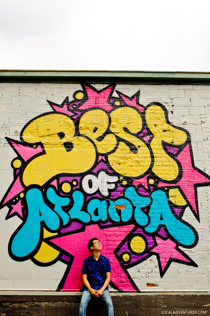 Best of Atlanta Wall (+ Best Murals on the Atlanta Beltline) // localadventurer.com