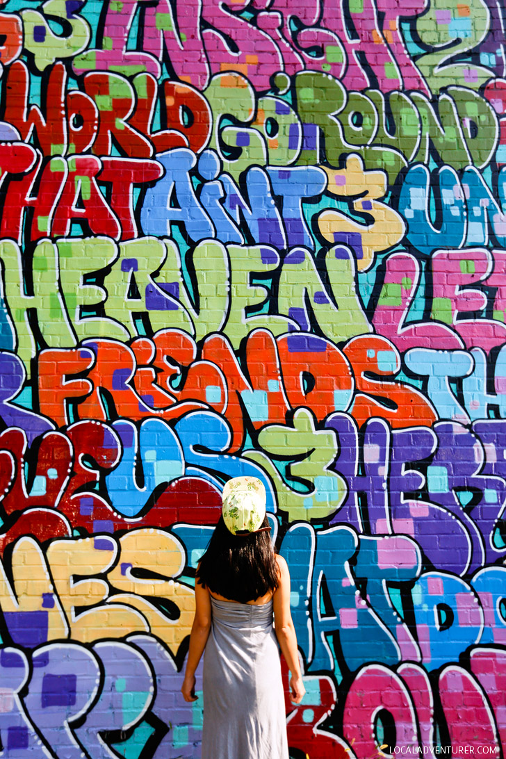 Graffiti wall atlanta - Dr Dax Alphabet Wall Best Places To Take Pictures In Atlanta