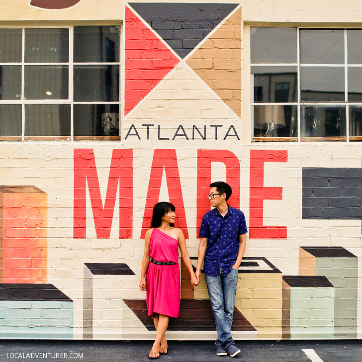 Atlanta Made Wall (+ Best Instagram Spots in Atlanta) // localadventurer.com