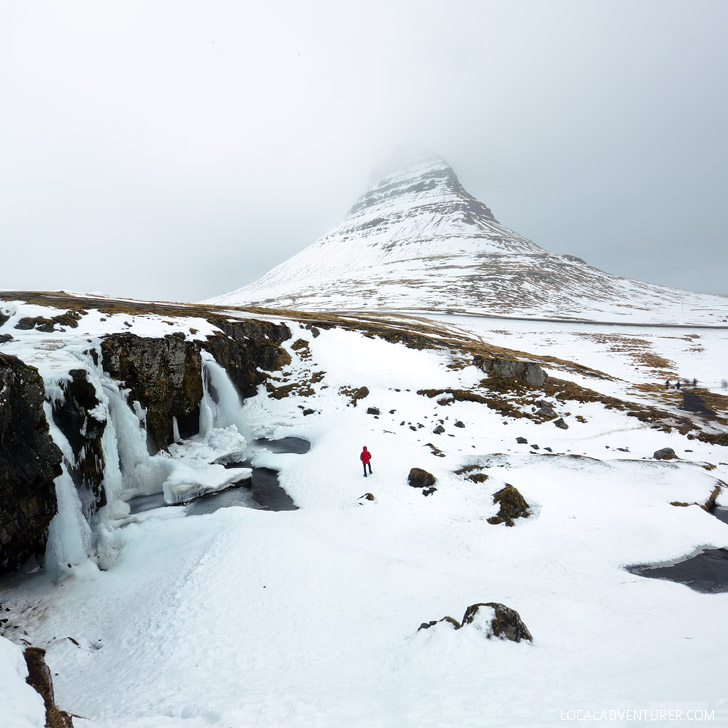 Kirkjufellsfoss (Iceland Winter Road Trip - Best Stops and Places to Avoid) // localadventurer.com